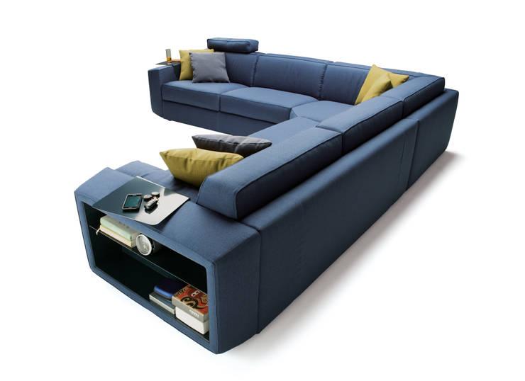 Il divano moderno idee per il soggiorno for Soggiorno milano