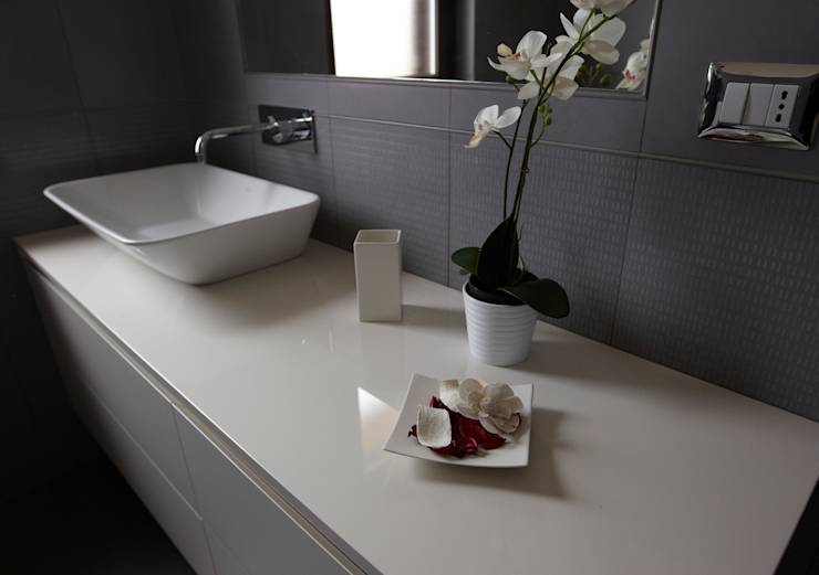 Rinnovare il bagno con un prima e dopo da shock - Bagno caldo dopo mangiato ...