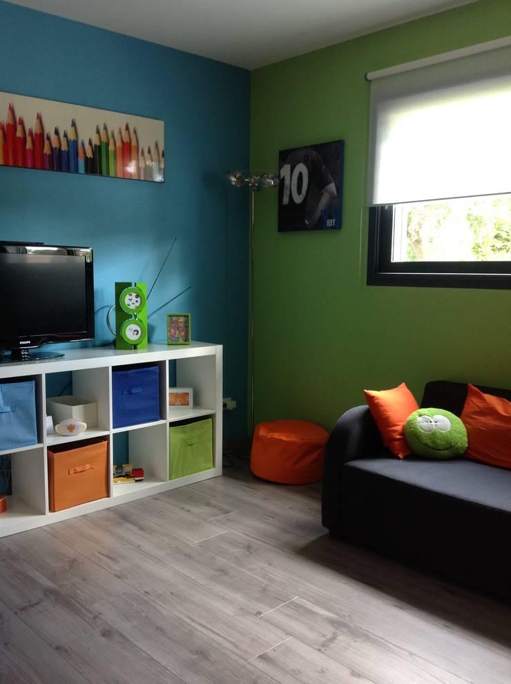 Am Nagement Et D Coration D 39 Une Salle De Jeux Pour Enfant Par Myriam Galibert Amenagement Homify