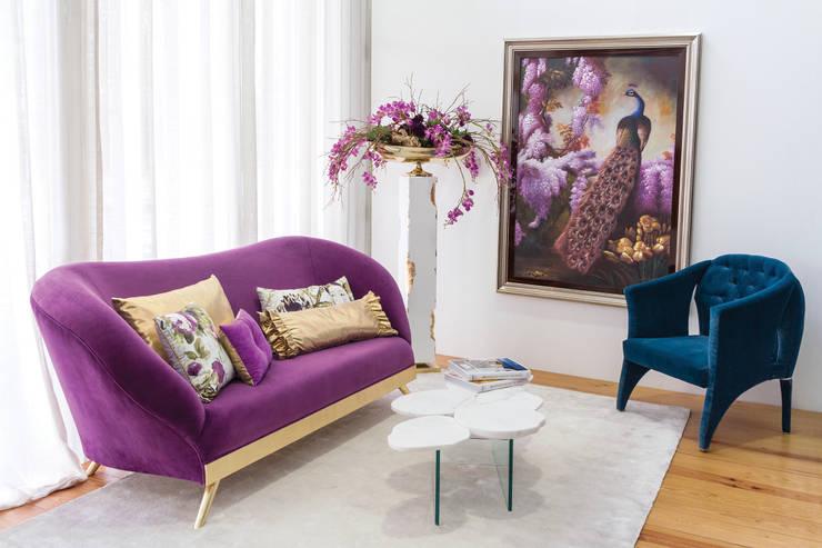 Salas de estilo moderno por Green Apple Home Style