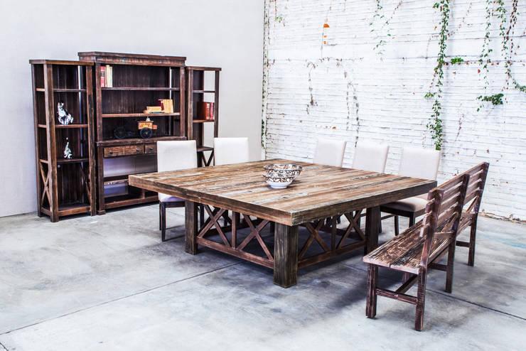 10 mesas de madera extraordinarias para casas modernas - Mesas de madera modernas ...