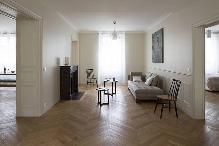 wohnen im pariser altbau. Black Bedroom Furniture Sets. Home Design Ideas