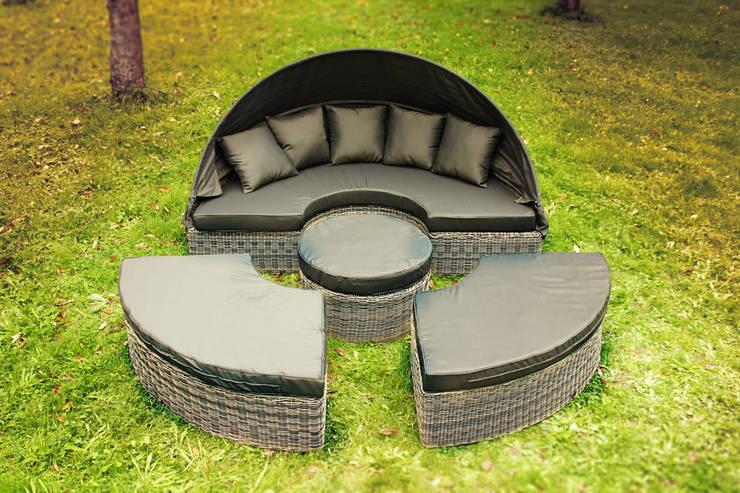 wetterfeste lounge m bel f r den garten. Black Bedroom Furniture Sets. Home Design Ideas