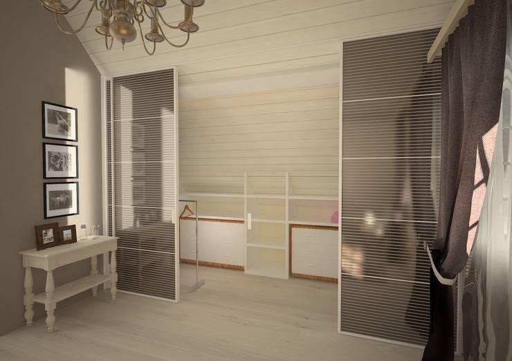 Le cabine armadio da sogno proibito a realt - Cabine armadio in mansarda ...