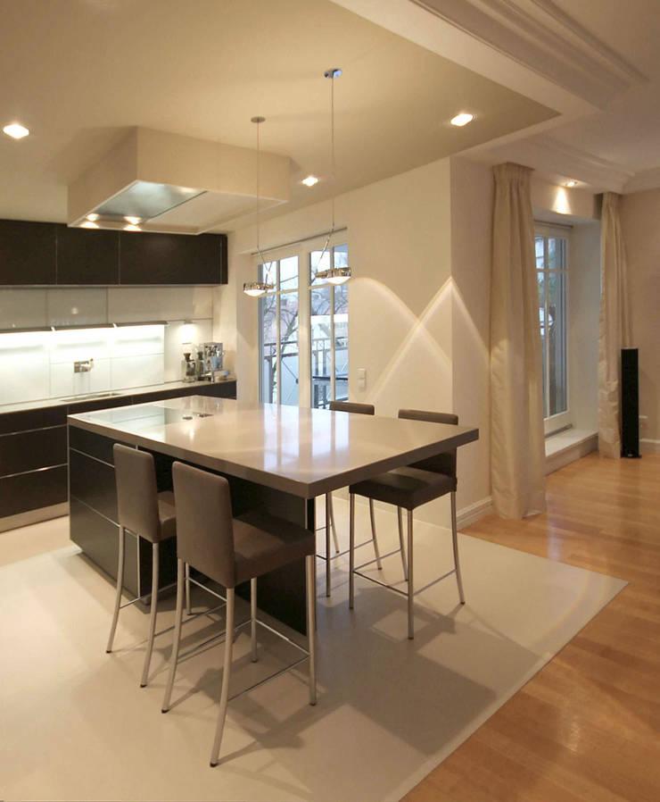 offene wohnk che de eswerderaum homify. Black Bedroom Furniture Sets. Home Design Ideas