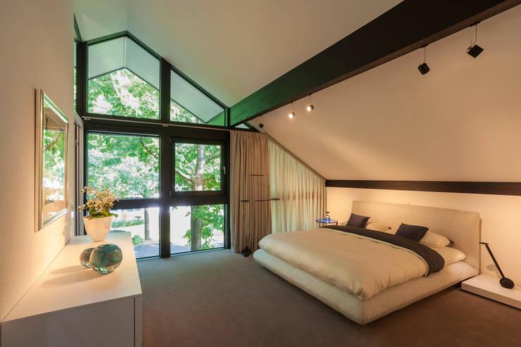 Moderne Häuser Innen Schlafzimmer: –· coole schienen beleuchtung ...