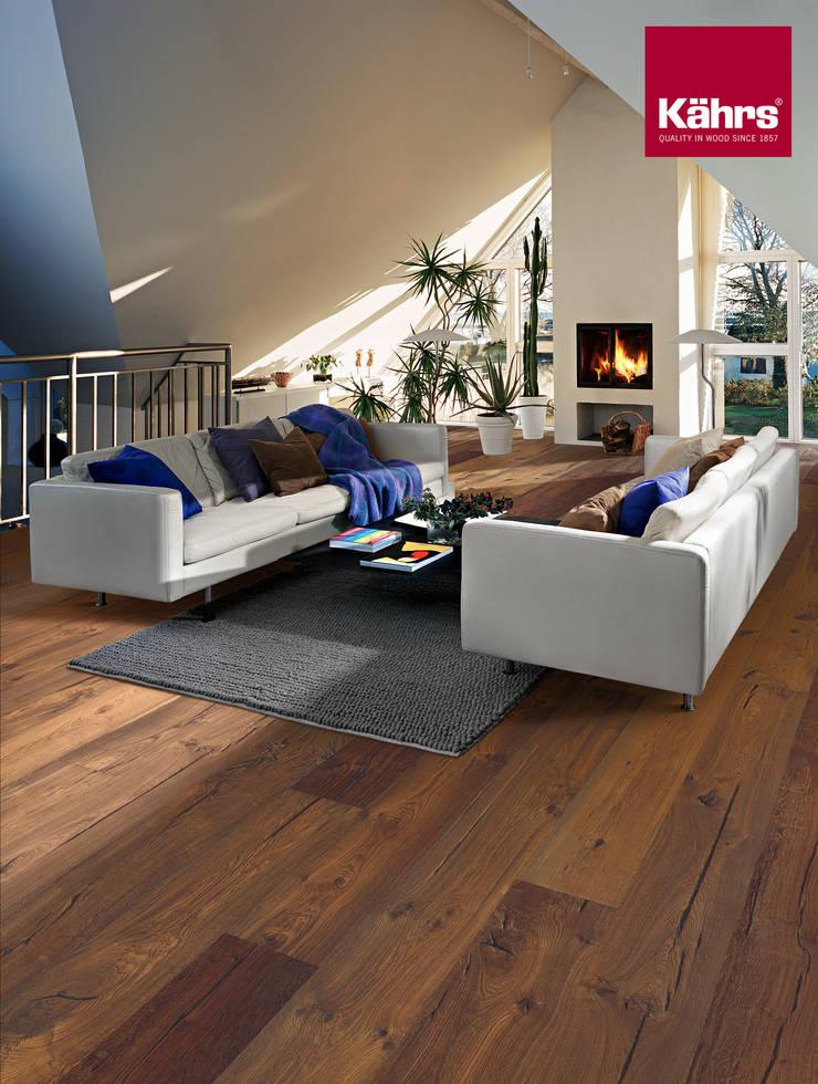 wohnzimmer mit k hrs parkett von k hrs parkett deutschland homify. Black Bedroom Furniture Sets. Home Design Ideas