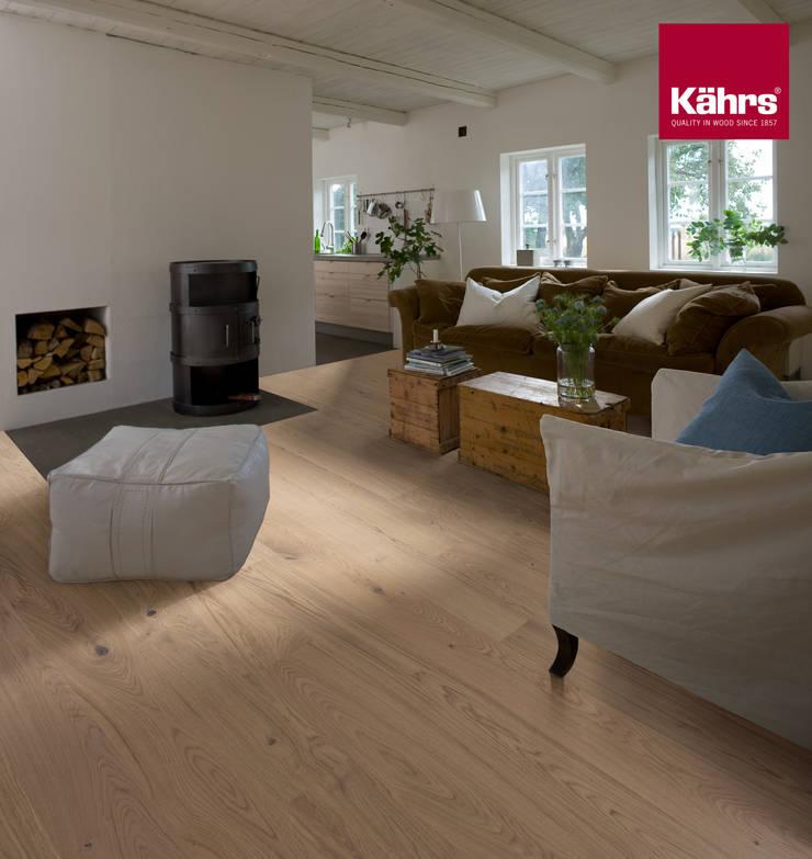 wohnzimmer parkett eiche:Wohnzimmer mit Kährs Parkett von Kährs Parkett Deutschland