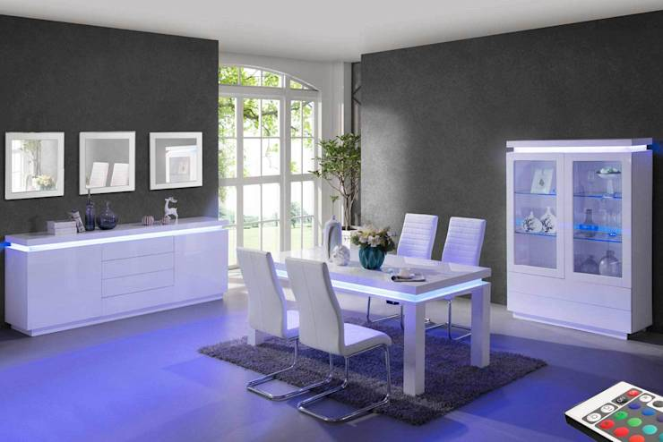 7 id es pour une salle manger moderne for Mobilier de salle a manger moderne