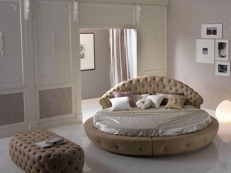 원형 침대 디자인