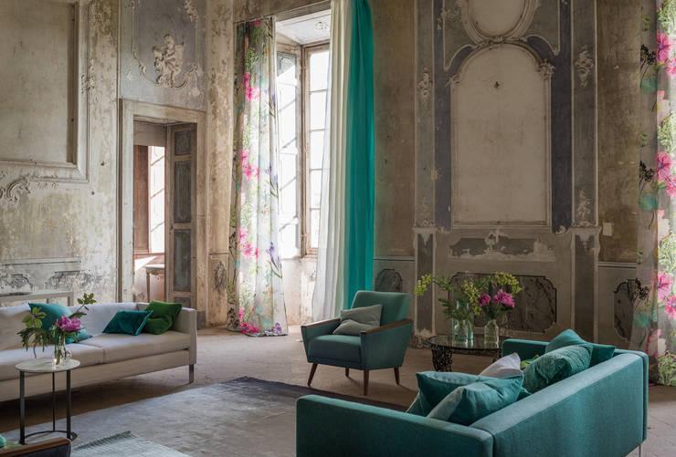 Cortinas para sala transforme as suas janelas - Designers guild catalogo ...