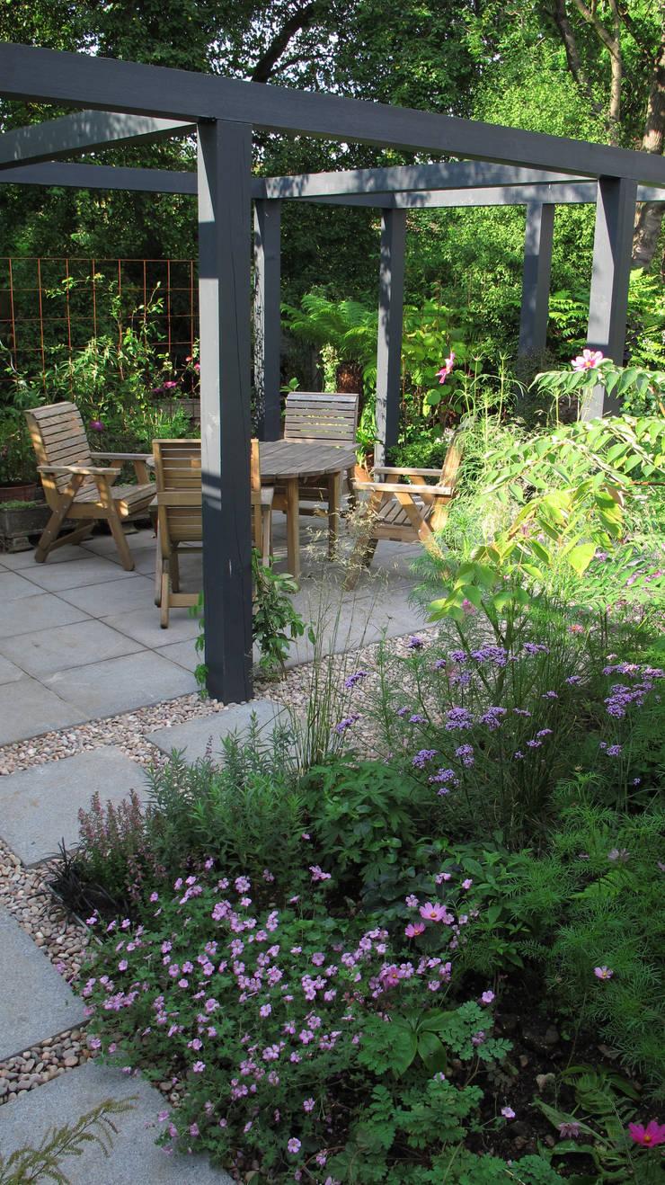 Contemporary Pergola Garden By Fenton Roberts Garden