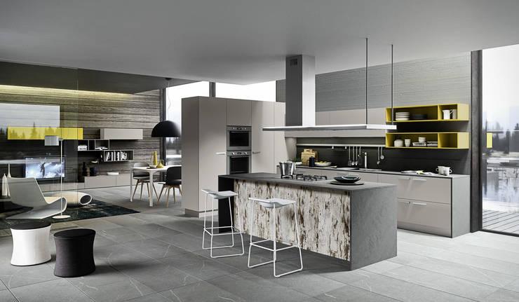 10 fantastiche cucine con isola per rivoluzionare casa - Cucina open space con isola ...
