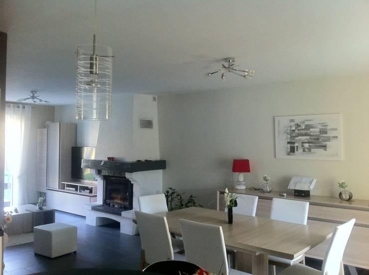 d coration et am nagement d 39 un salon salle manger par ludivine clavel homify. Black Bedroom Furniture Sets. Home Design Ideas