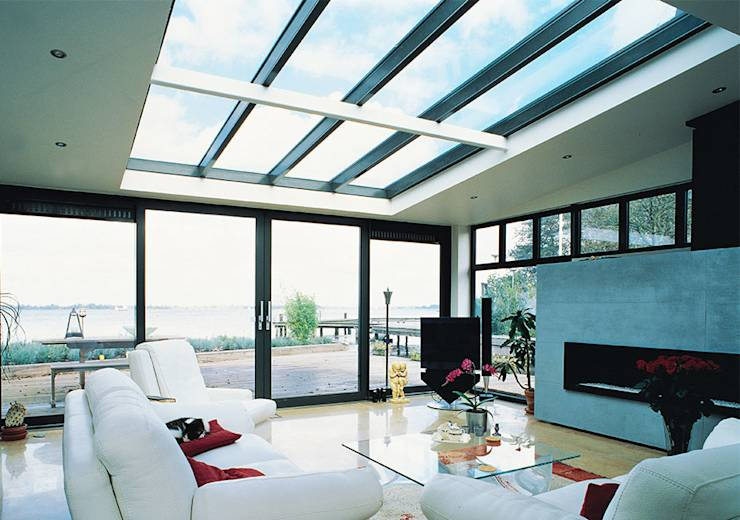 Let in the light with stylish glass ceilings for Window roof design