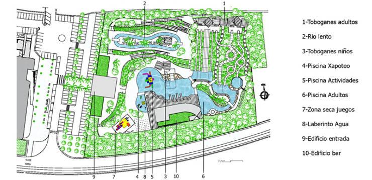 Parque acu tico en menorca de fg arquitectes homify - Parque acuatico menorca ...