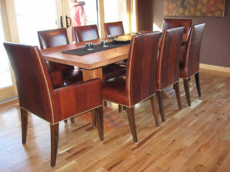 Muebles de comedor ideales para lograr un espacio acogedor for Asientos de comedor
