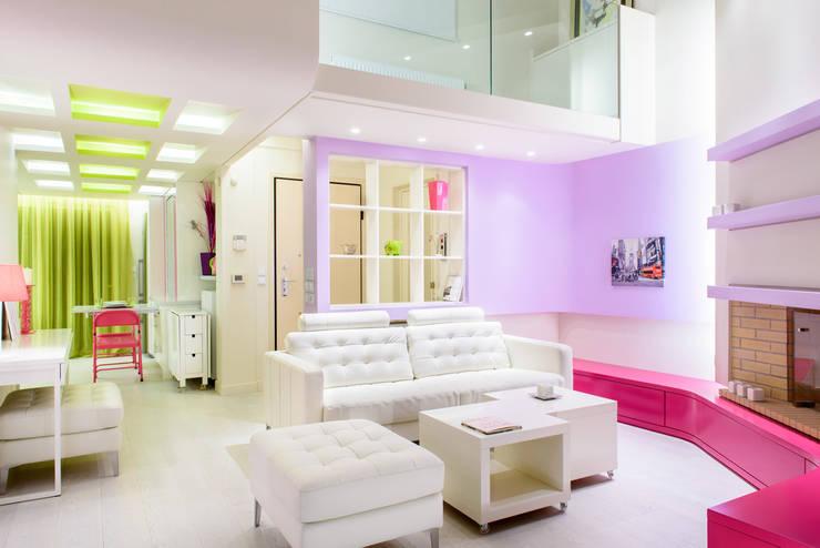 Case dagli interni colorati for Interni colorati casa