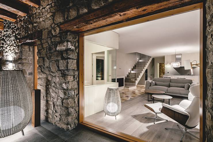 The wonder of modern-rustic style in 9 photos