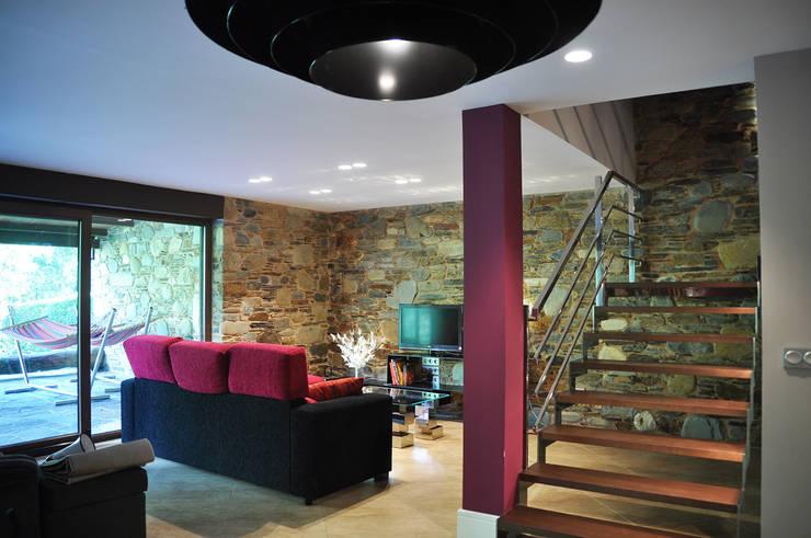 10 fabulosas casas de piedra de todos los estilos for Casa moderna galicia