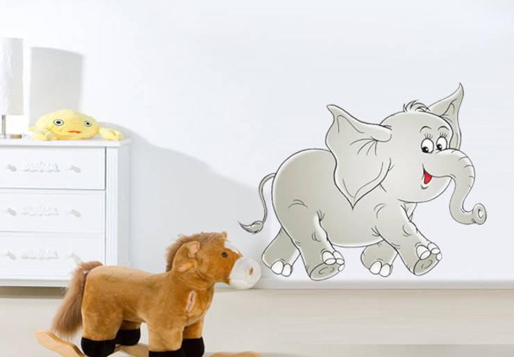 Wandtattoos f r das kinderzimmer von k l wall art homify - Leuchtende wandtattoos kinderzimmer ...