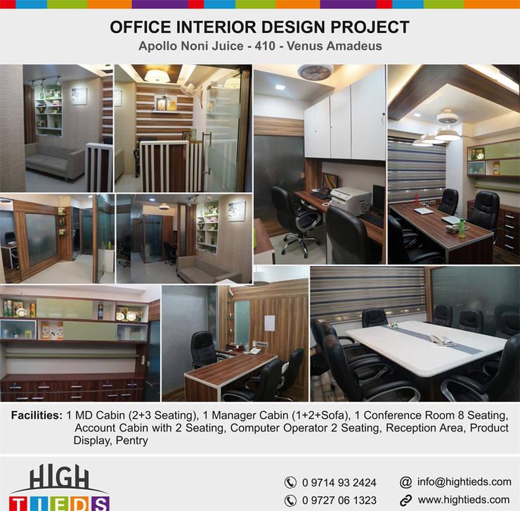 High tieds interior design 1100 square feet corporate for Interior design agency vietnam