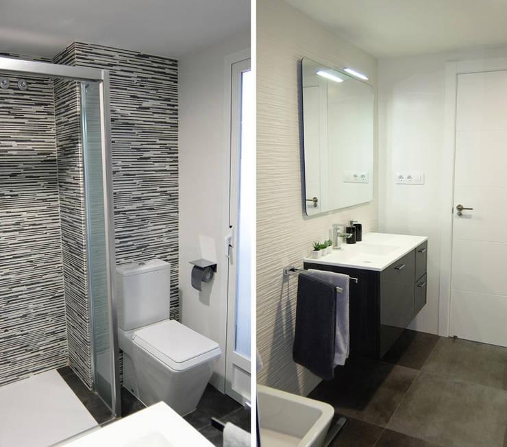 Antes y despu s la reforma integral de un apartamento en for Apartamentos modernos playa