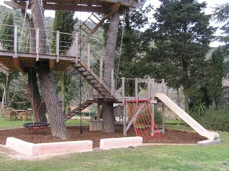 La casa sull albero per i bambini e non solo - Progetto casa sull albero per bambini ...