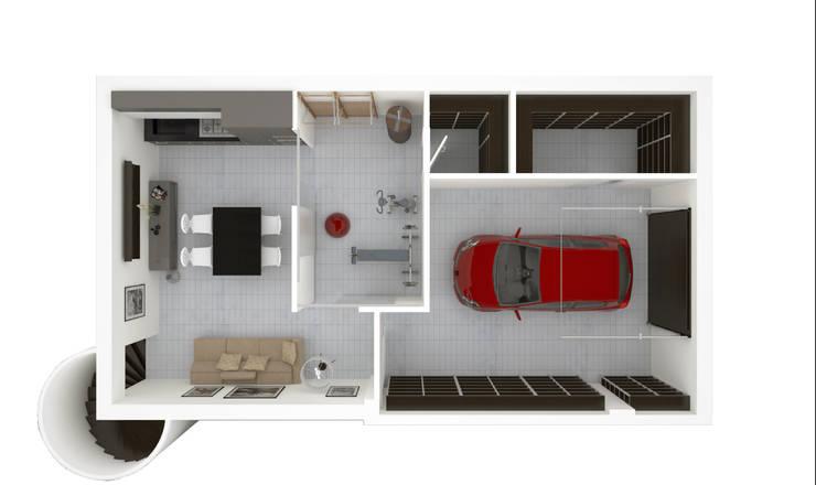 Il garage moderno for Design moderno garage indipendente
