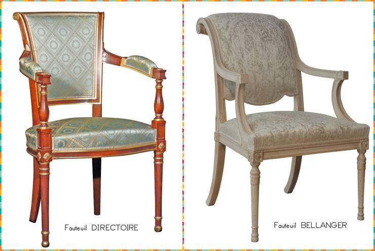 salon de style directoire par balcaen mobilier de style paris homify. Black Bedroom Furniture Sets. Home Design Ideas