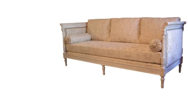 Salon de style directoire par balcaen mobilier de style for Canape directoire