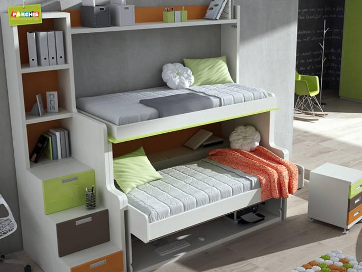 Camas abatibles para dormir tranquilos en poco espacio for Crear muebles juveniles