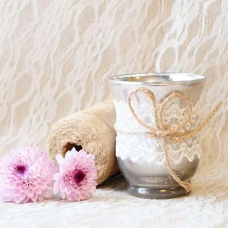 Farolillos y soportes para velas de beautifulbluebrides - Farolillos para velas ...