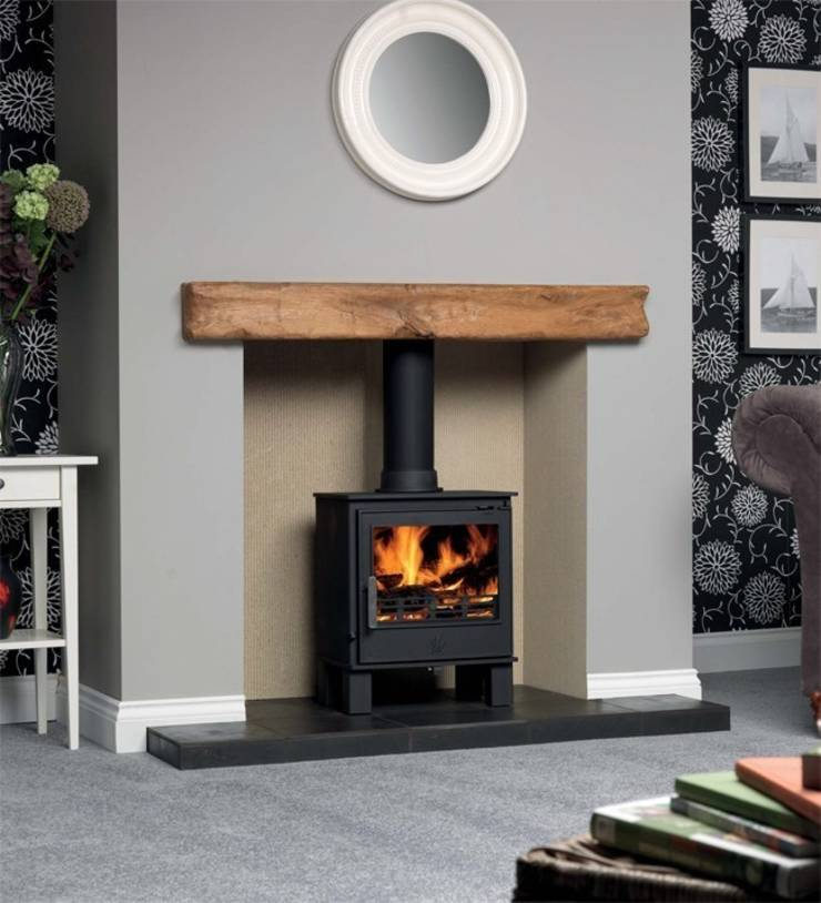 Acr wood burning multi fuel stoves by direct stoves homify - Living room with wood burning stove ...