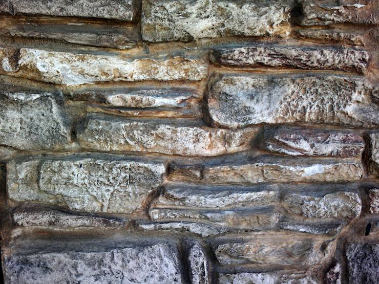 Finta pietra pannelli o carte da parati - Spessore muri interni ...