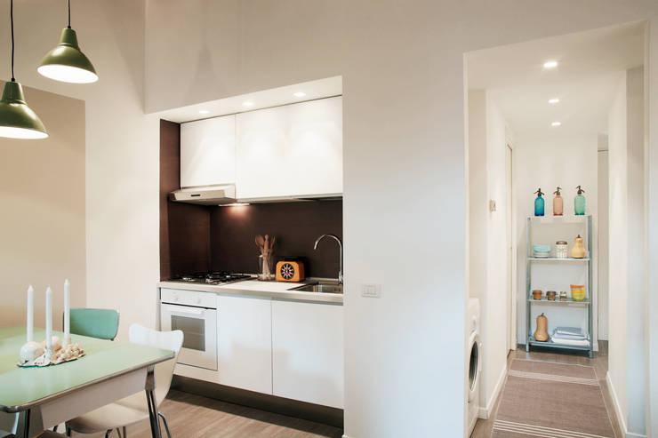 modern Living room by marta novarini architetto