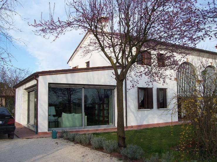 Ampliamento di casa unifamiliare a olmo di martellago di studio di architettura baldin - Ampliamento casa ...