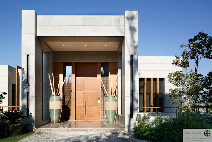 14 ideas for a beautiful and stylish entrance