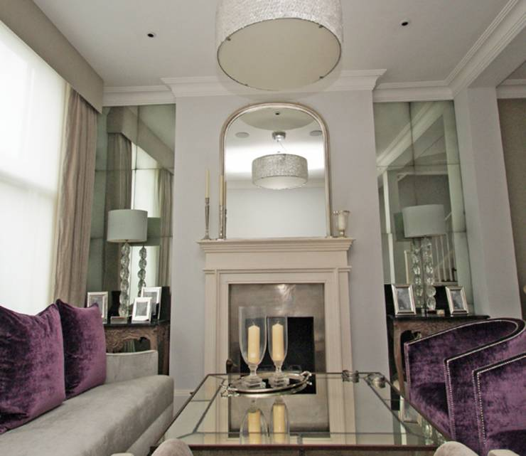 Living & Dining Rooms by Mirrorworks, The Antique Mirror ...
