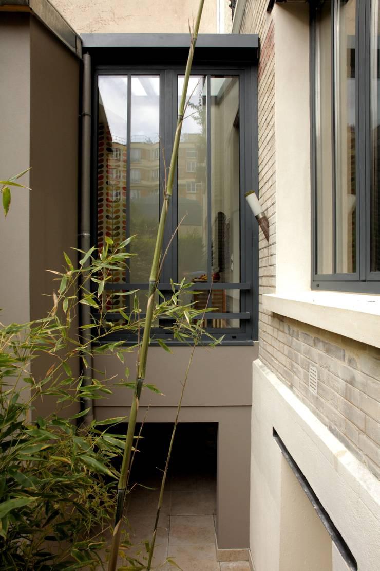 extension en ossature bois d 39 un appartement dans l 39 esprit atelier parisien 92 par philippe. Black Bedroom Furniture Sets. Home Design Ideas