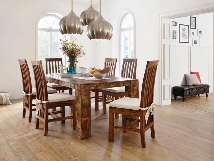 Blau Esszimmer Möbel auf Rollen Stuhl