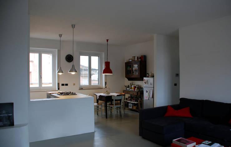 2 proposte d 39 interior design per piccoli appartamenti for Piccoli appartamenti di design