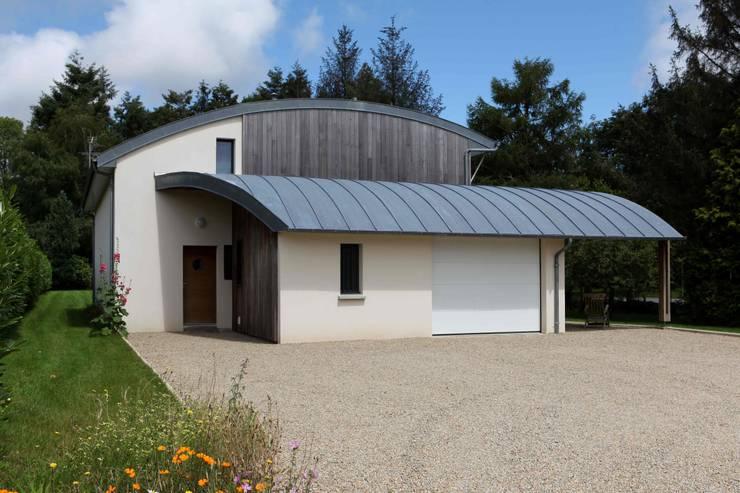 Homify 360 visite d 39 une maison bioclimatique pluvigner - Patrice bideau architecte ...