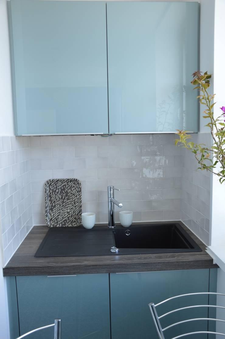 Chambre Bleu Acier : Cuisine bleu acier solutions pour la décoration