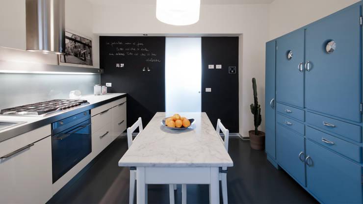5 appartamenti moderni che non invidiano nulla a ville pi - Parete lavagna cucina ...