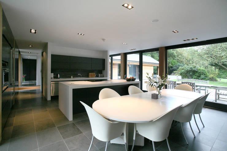 Een supermooi bekroond brits huis - Keuken ontwerp lineaire ...