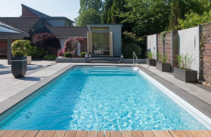 Schwimmbad sauna wellness von l chte gmbh homify for Gartenpool eingebaut