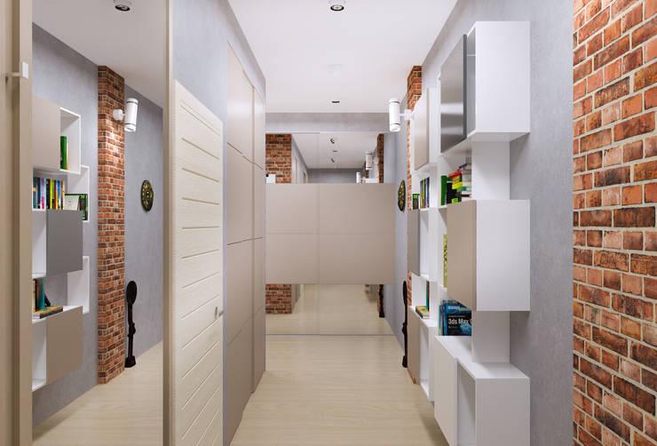 Couloir, Entrée & Escaliers de style de style Minimaliste par PlatFORM