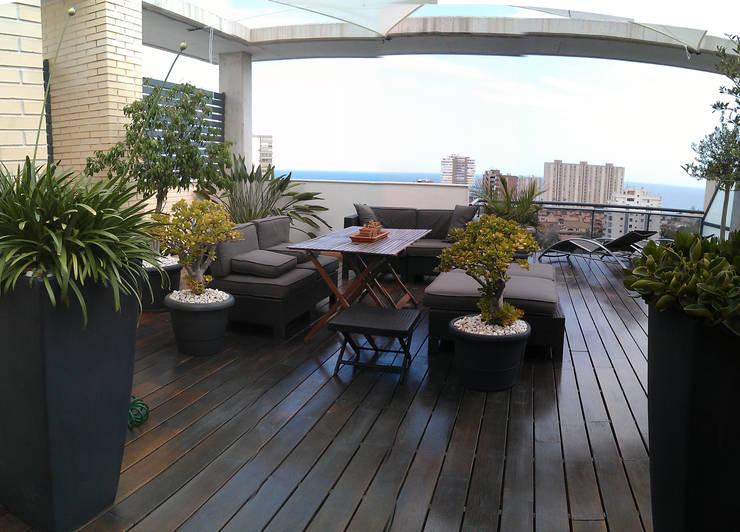 12 ideas para tener una terraza moderna en la azotea - Fuentes para terraza ...
