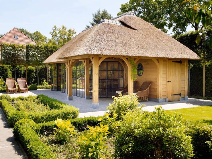 translation missing: za.style.terrace.country Terrace by Rasenberg exclusieve tuinpaviljoens & eiken gebouwen b.v.